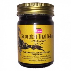 Черный бальзам с ядом скорпиона