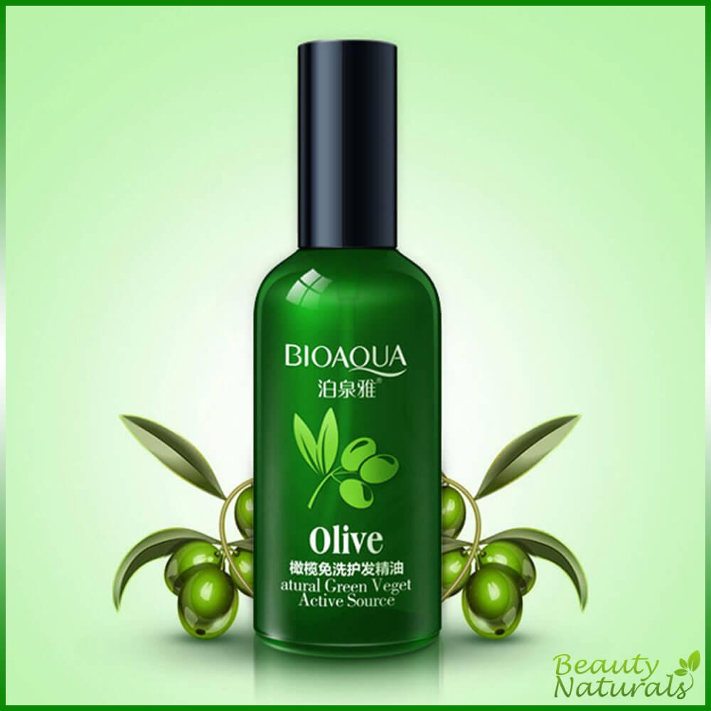 Масло для волос с экстрактом оливы Bioaqua
