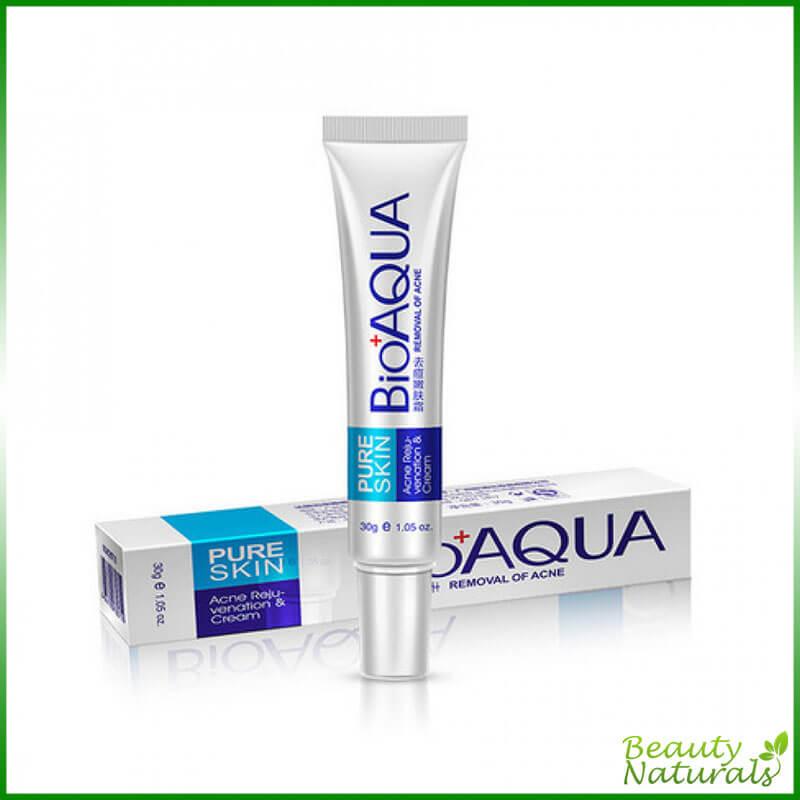 Концентрированный крем от прыщей и акне точечного действия Pure Skin Bioaqua