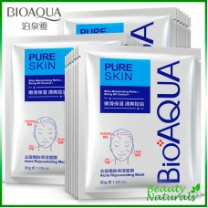 Маска для лица Pure Skin Acne Rejuvenation Moisturising Mask Bioaqua
