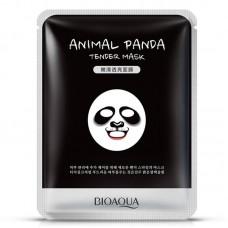 Смягчающая маска Animal Face Panda Bioaqua
