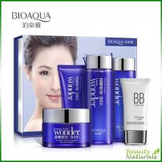 Набор для ухода за кожей лица с черникой Bioaqua
