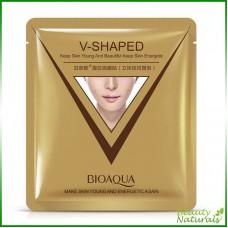 Маска для лица V-Shaped Bioaqua