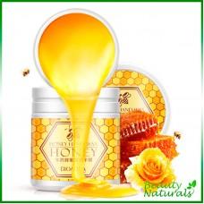 Маска для рук с мёдом Bioaqua