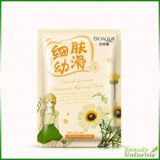 Очищающая маска с экстрактом ромашки Natural Extract Bioaqua