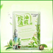 Освежающая маска с маслом чайного дерева Natural Extract Bioaqua