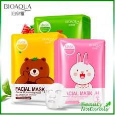 Увлажняющая маска с экстрактом сакуры и алоэ вера Bioaqua