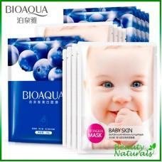 Маска для лица отбеливающая Baby Skin Bioaqua
