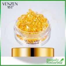 Золотые капсулы с сывороткой для ухода вокруг глаз Venzen