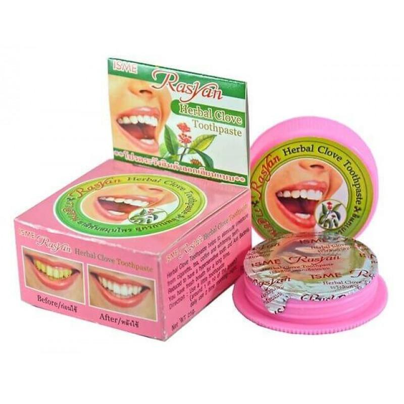 Тайская травяная отбеливающая зубная паста ISME RasYan