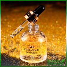 Сыворотка с лифтинг-эффектом для кожи вокруг глаз с пептидами и частичками золота Venzen